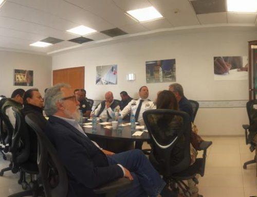 Reunión con el Monseñor Francisco Moreno Borrón, arzobispo de la Arquidiócesis de Tijuana