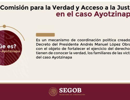 Instalación de la Comisión para la verdad y acceso a la justicia en el caso Ayotzinapa