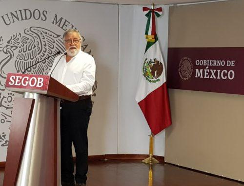 Conferencia de prensa para hablar sobre la liberación de los 24 implicados en el caso Ayotzinapa
