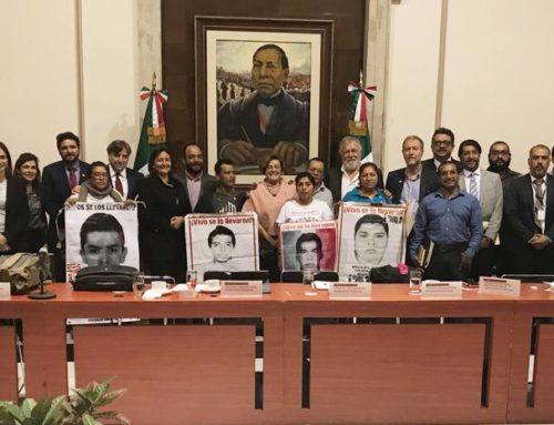 Acuerda la Comisión para Verdad y el Acceso a la Justicia para el caso Ayotzinapa reunión con la Fiscalía Especial de la FGR