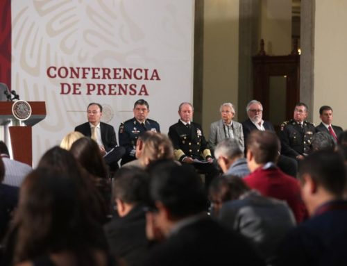 Informe general del gabinete de Seguridad del Gobierno de México