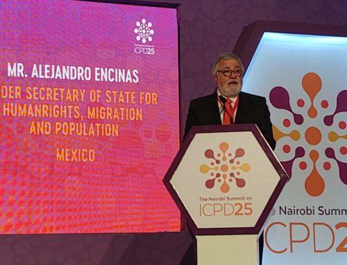 Como parte de los compromisos que México adquiere durante la Cumbre de Nairobi, es otorgar educación sexual integral desde la infancia en todos los niveles educativos públicos