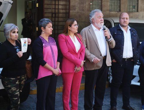 Entrega de instalaciones y vehículos para la Comisión Estatal de Búsqueda de Personas en el estado de Jalisco