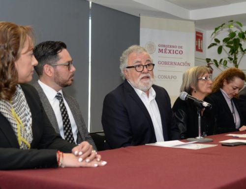 Prioridades del Gobierno de México: prevención del embarazo adolescente y el desplazamiento interno forzado