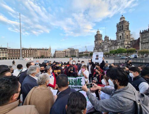 El Estado mexicano reitera el compromiso con las madres de personas desaparecidas y ratifica la invitación al Comité de Desapariciones Forzadas de Naciones Unidas