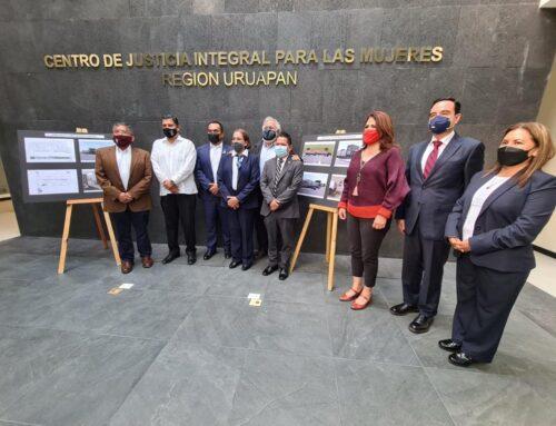 Se inaugura Centro de Justicia Integral para las Mujeres en Uruapan, Michoacán