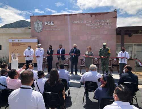 Inauguración de Unidad Integral de Servicios Médicos Forenses en Veracruz
